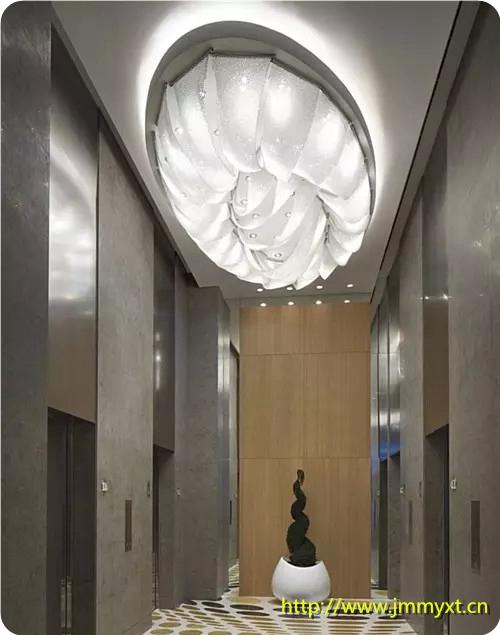 世界顶级手工定制灯具设计同款现代艺术编织水晶灯