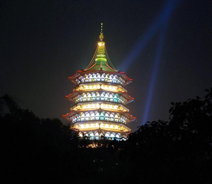 古建筑照明设计——雷峰塔建筑照明设计