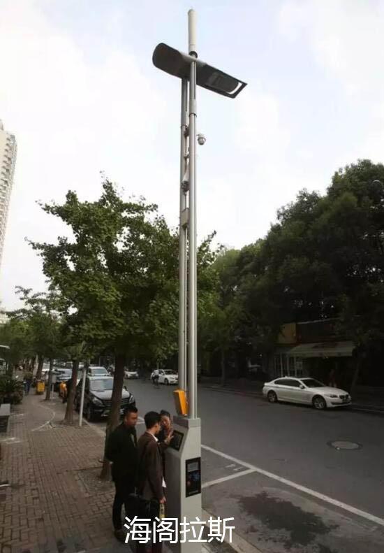 环境路灯手绘图片