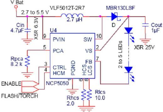 分析移动电话与pda应用中led照明驱动电路的设计