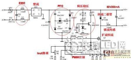 4种led日光灯驱动方案优缺点分析