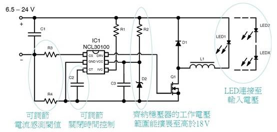 cat4201则是整合了mosfet开关的完整电源转换器,采用小型tsot5封装