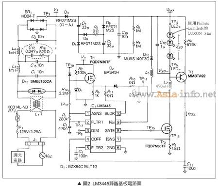 输入电压峰值变成一半为止则以填谷电路动作,如此一来转换器的输入