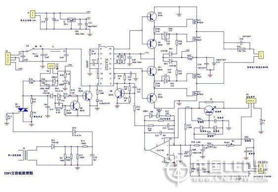 直流焊机电路图讲解