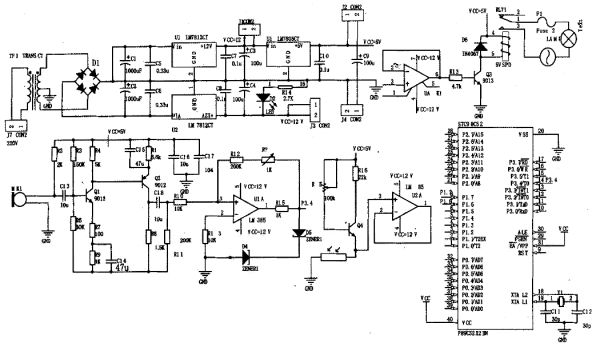 光控电路(电压跟随器)