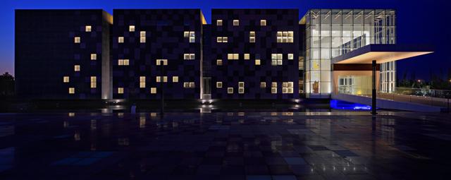 固安展览馆灯光照明设计案例
