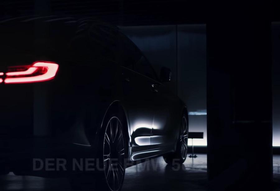 BMW新5系列LED尾灯曝光