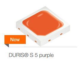 欧司朗推出园艺用Duris S5 purple LED