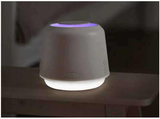 小米有品上架呼吸灭蚊灯:具有紫光诱蚊、柔光照明