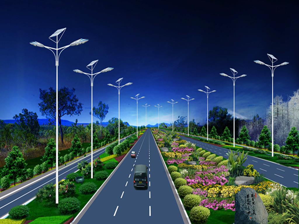 太阳能led路灯优点图片