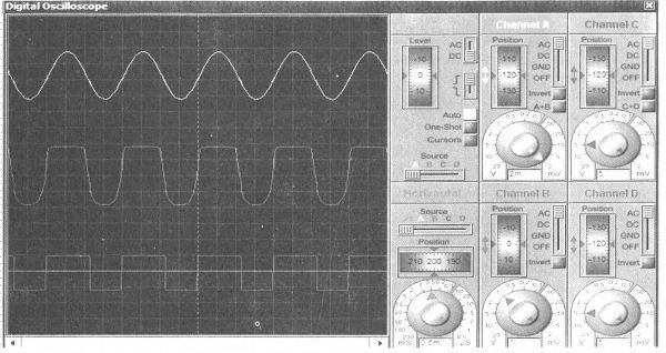 图7 声控电路仿真