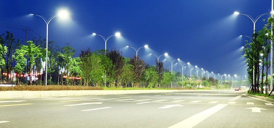 常德大道道路照明项目改造解决方案