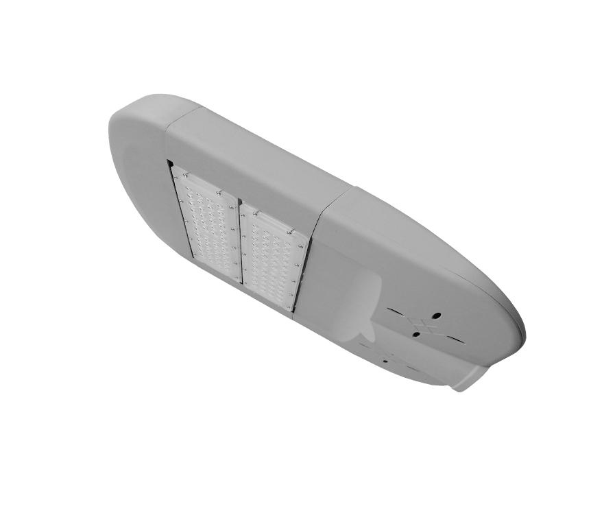 佛山朗沃供应新款100W路灯外壳, 3030国标模组路灯套件