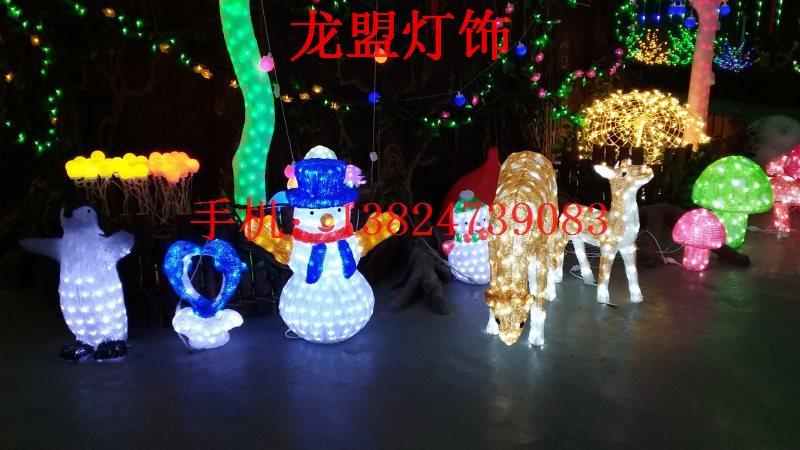 LED滴胶动物造型灯圣诞装饰造型灯