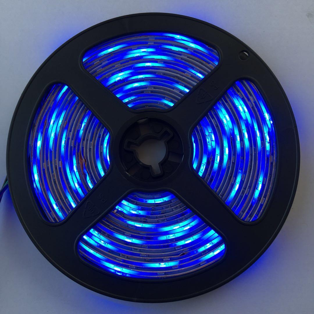 2835-60珠低压灯带 套管 滴胶 裸板防水节能LED灯带