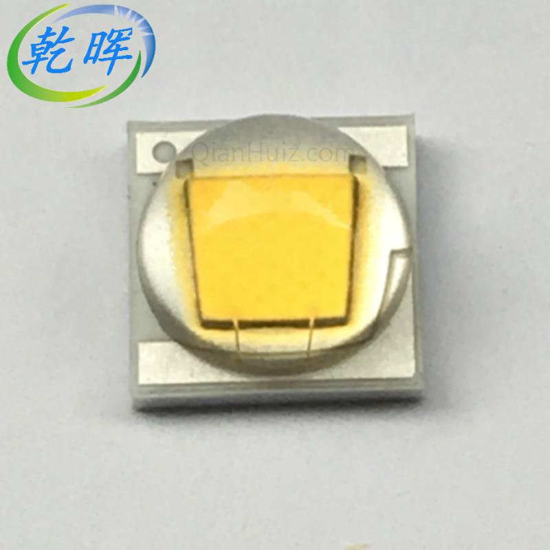 新品二代5050/XML2暖白10W国产LED灯珠 色温2800-3200K 修改