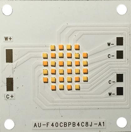 COB倒装多晶片模组CSP封装