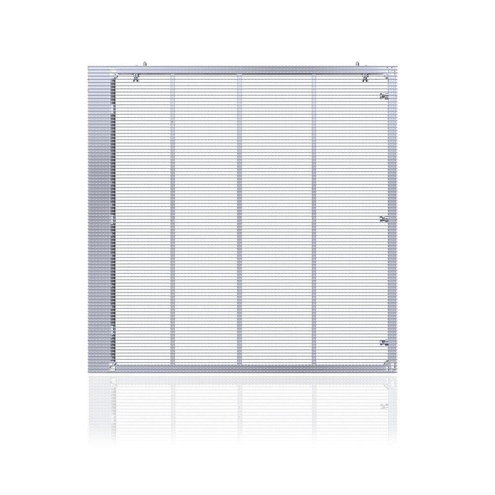LED橱窗透明屏玻璃幕墙LED透明显示屏