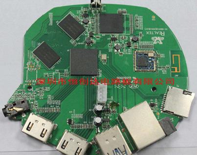 高清网络播放器PCBA电路板一站式生产厂家