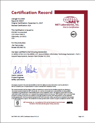 LED筒灯MET认证检测标准为UL1598
