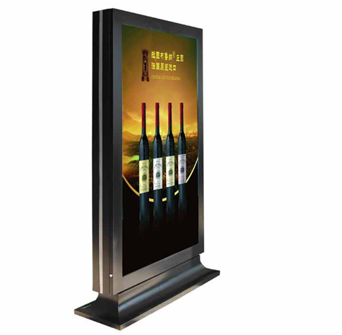 LED户外广告机  60寸78寸户外告机专业厂家