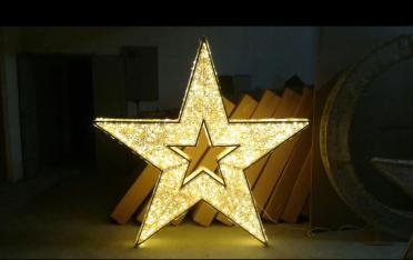 LED五角星 圆环