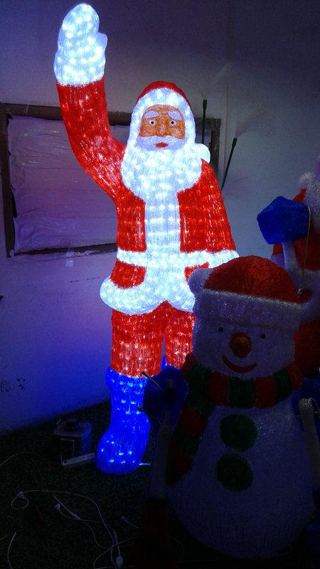 厂家直销 LED圣诞老人 雪人 圣诞鹿