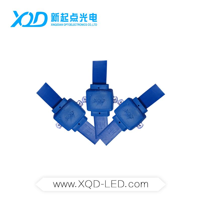供应LED造型全彩双头/双向装饰灯串/灯带 LED镜花宫灯