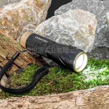 金霸王MLT-2C手电筒配5W CREE LED灯三节金霸王