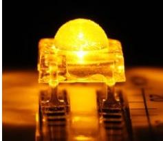 汽车尾灯转向灯用光源 LED食人鱼0.2W黄光高亮