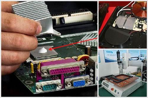 3.0高导热绝缘材料电磁炉导热硅脂散热膏用于大功率LED芯片