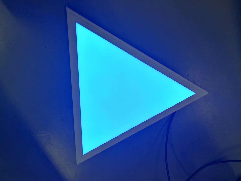 24V嵌入式三角形面板灯,2.4G摇控,