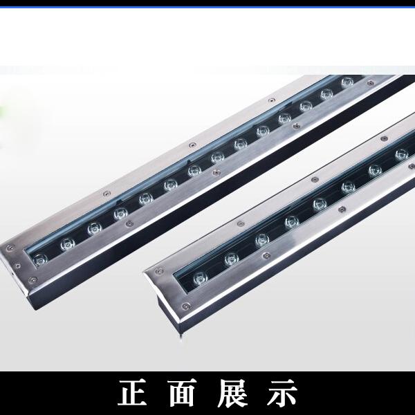 谐光照明条形LED地埋灯24W30W36W48W1.2米