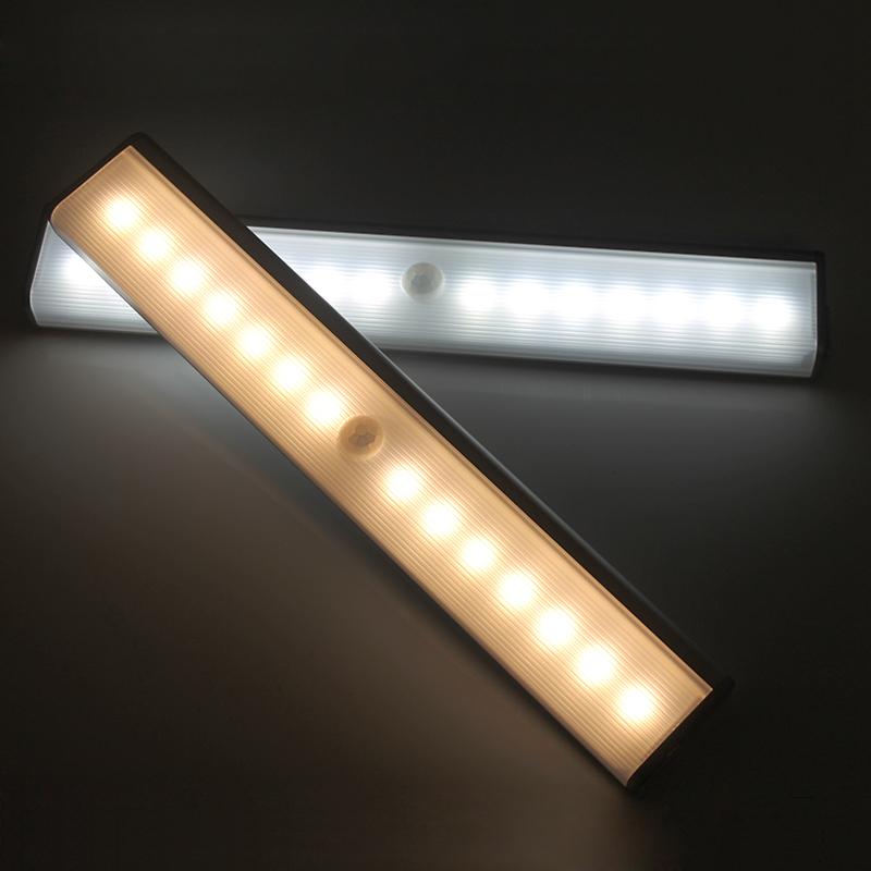 USB充电双排灯红外感应衣柜灯可调白光暖光