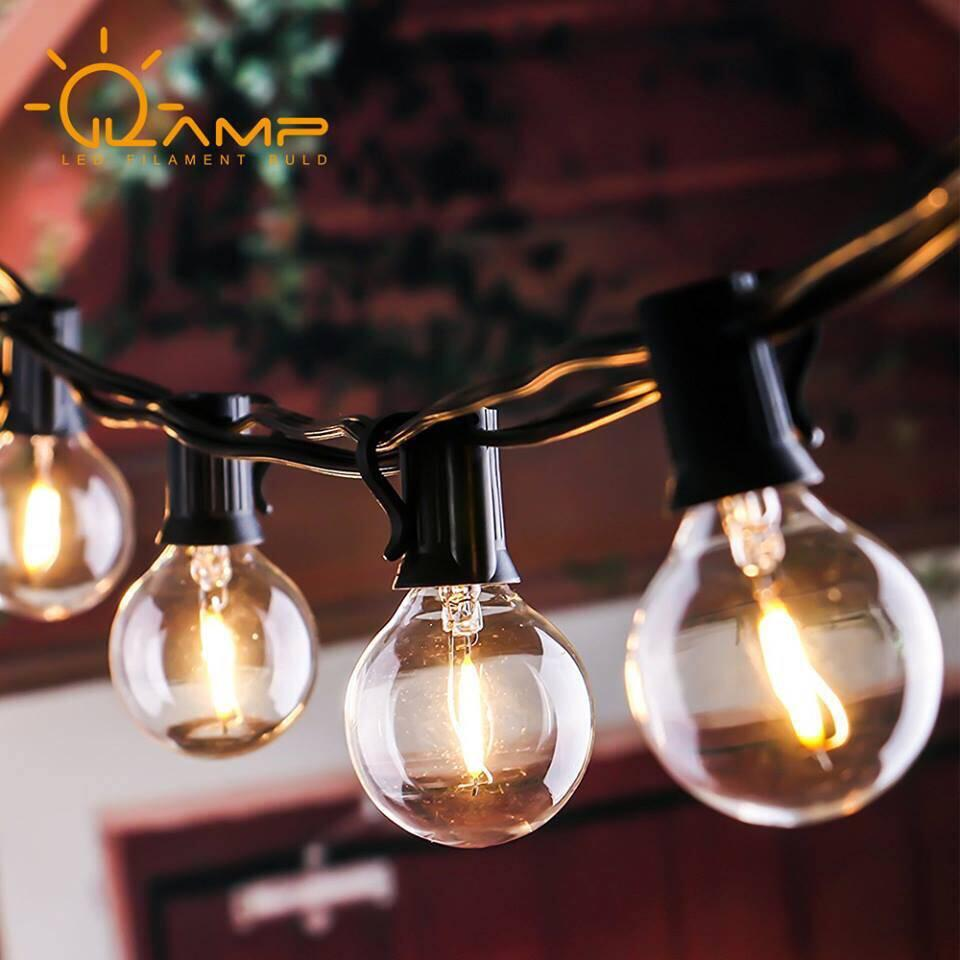 跨境电商专供G40 LED灯串 UL认证 灯丝灯 经济款