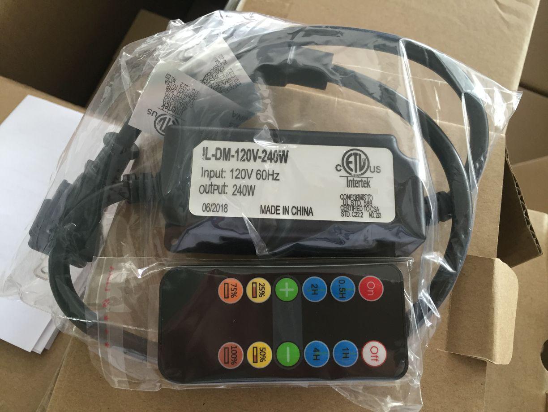 防水红外8键单色240瓦LED铜线灯串控制器