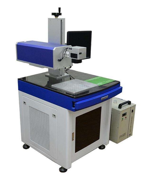 条形码二维码紫外激光打标机
