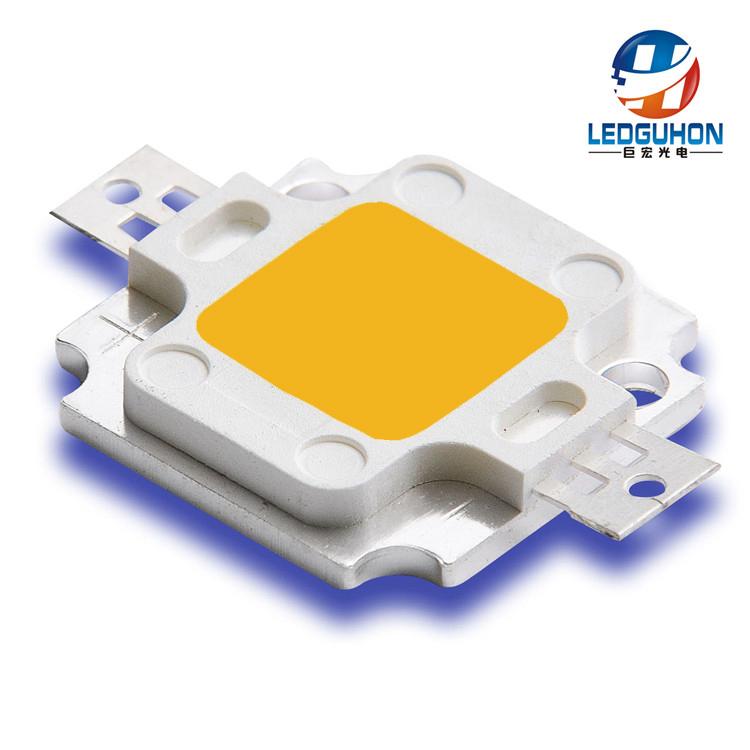 巨宏新品大功率COB LED灯珠 游轮灯用10W
