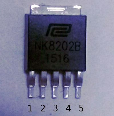 LED恒流驱动芯片NK8202B