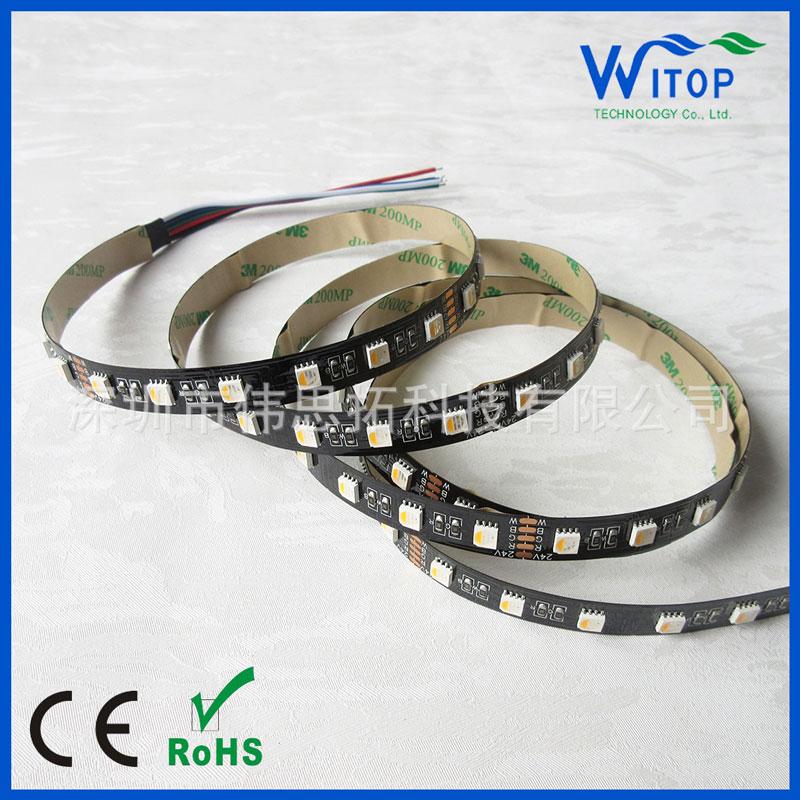 4in1七彩RGBW/RGBA/WWA高性能冷白自然白暖白软灯带