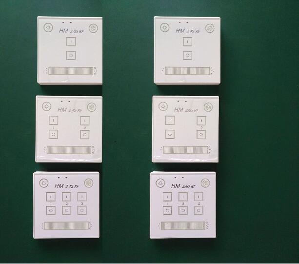 智能触摸调光面板(自动调节LED灯的亮度和色温)