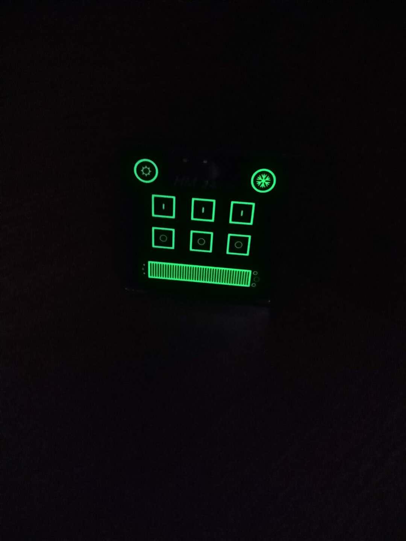 提供一种自动感知调色温强磁吸附的智能触摸面板