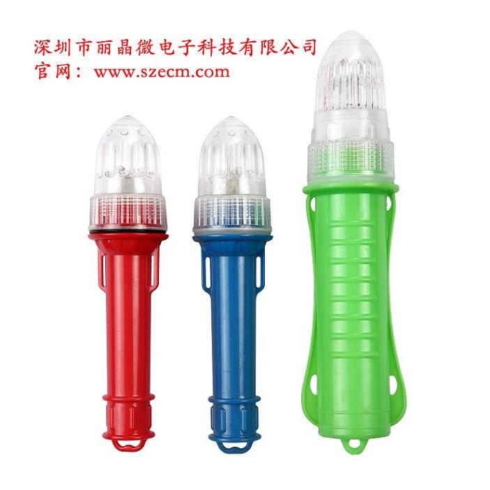 供应LED捕鱼网标灯IC芯片,光控信号灯IC