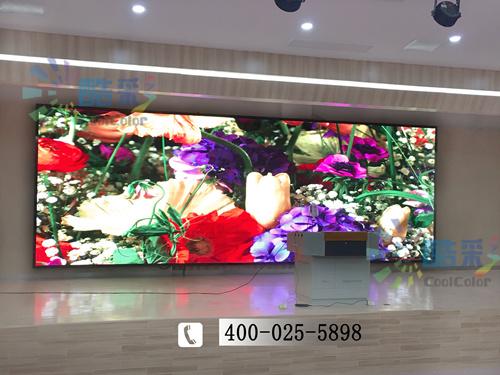 南京市高中P3室内全彩LED 电子显示大屏