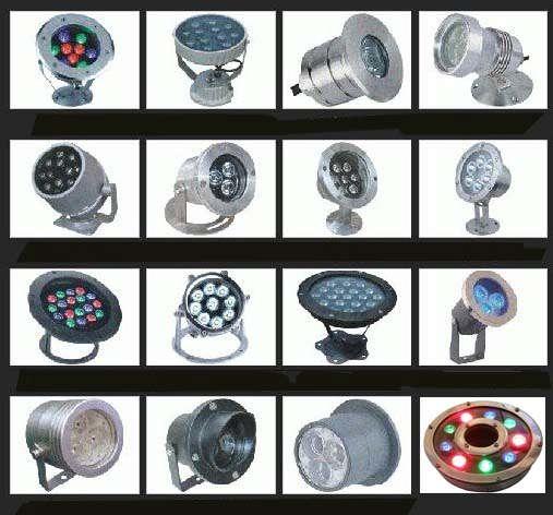 河北保定精致节能环保LED水底灯中孔水景灯喷泉灯厂家