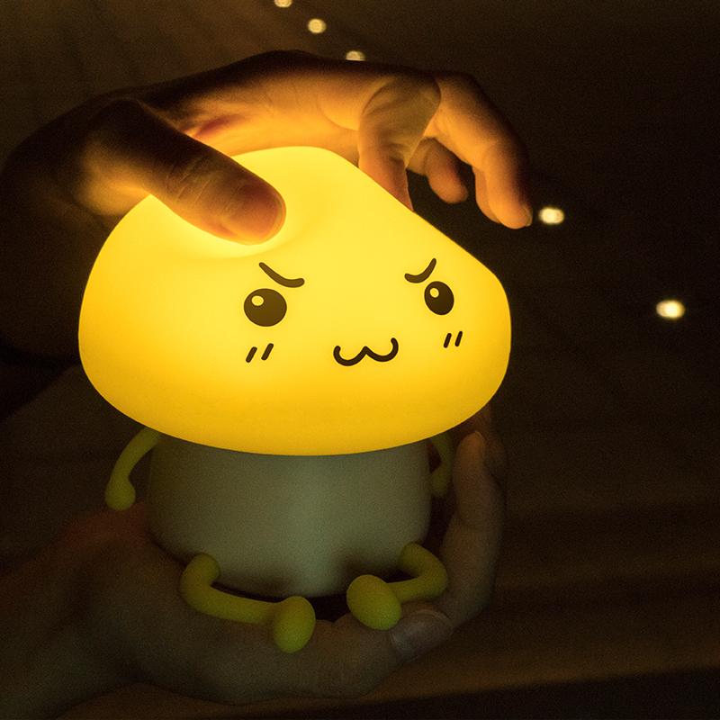 【意匠优礼】LED伴睡灯触摸台灯小夜灯