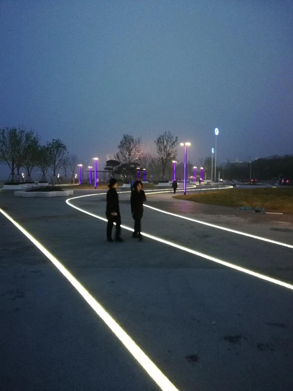 广场方形地砖灯 尺寸定制厂家