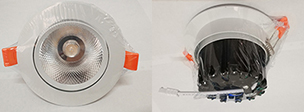 5w 开孔75高亮 压铸铝LED天花灯酒店商业照明