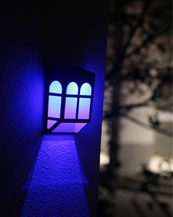 LED太阳能篱笆灯