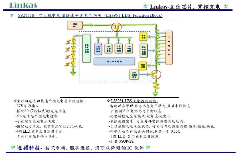 空拍机电池组快速充电应用